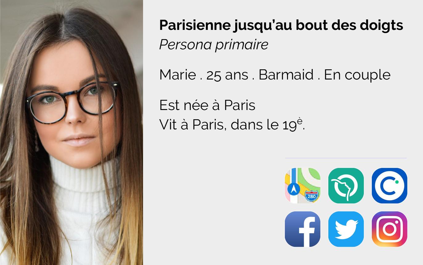 Marie : Une parisienne jusqu'au bout des ongles. (Cliquez sur l'image pour voir plus d'informations)